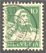 Switzerland Scott 168 Used